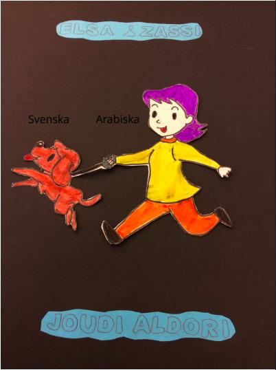 Framsida på boken Elsa & Zassi av Joudi Aldouri
